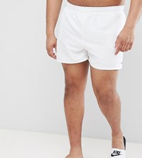 Nike Plus Exclusive Volley Super Short Swim Short In White Ness8830 100