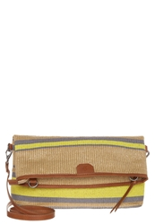 Marc O'polo Across Body Bag Grey Yellow
