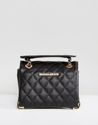 Silvian Heach Quilted Shoulder Bag Black