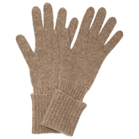 John Lewis Cashmere Long Gloves Toast