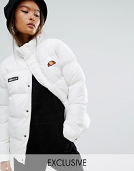 Ellesse Oversized Padded Jacket Marshmallow Cream