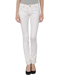 John Richmond Denim Pants Ivory
