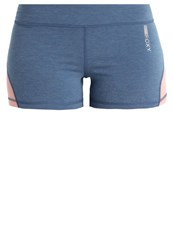 Roxy Imanee Sports Shorts Captains Blue Heather Light Blue