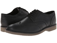 Nunn Bush Depere Wing Tip Oxford Lace Up Black Men's Lace Up Wing Tip Shoes