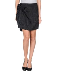 Isabel Marant Knee Length Skirts Black