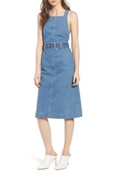 Dl1961 Roxanne Belted Denim Dress Chapel