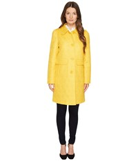 Kate Spade 33 Quilted Trench Saffron Women's Coat Orange