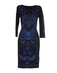 Mariella Rosati Dresses Knee Length Dresses Women Dark Blue