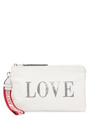Zadig And Voltaire Uma Love Wallet White