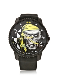 Tendence Iconic Pirate Watch Black Yellow