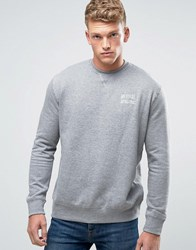 Russell Athletic Crew Neck Sweater With Logo Grey