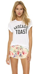 Private Party Avocado Toast Tee White