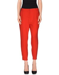 Imperial Star Imperial Trousers Casual Trousers Women Red