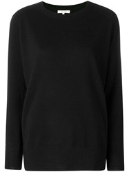 Chinti And Parker Loose Cashmere Sweater Black