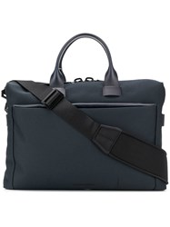 Troubadour Laptop Holdall Bag Blue