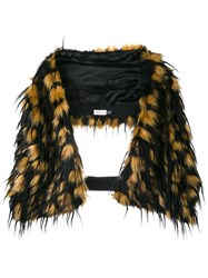 Dries Van Noten Greta Faux Fur Scarf Brown