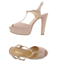 Bibi Lou Sandals Skin Color