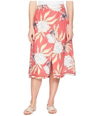Roxy Endless Valley Holly Berry House Of The Sun Skirt Multi
