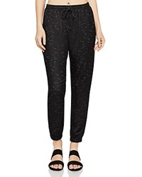 Bcbgeneration Space Dye Jogger Pants Black Combo