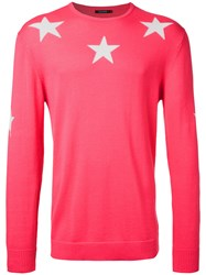 Guild Prime Stars Jumper Pink And Purple