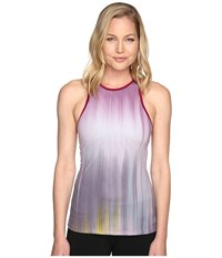 New Balance Yarra Tank Top Jewel Multi Women's Sleeveless Blue