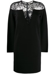 Givenchy Lace Top Dress Black