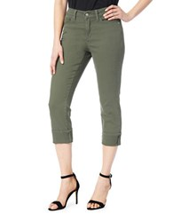 Nydj Cropped Skinny Jeans Topiary