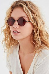 Urban Outfitters London Round Sunglasses Black