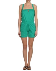Sessun Short Overalls Light Green