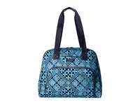 Vera Bradley Go Anywhere Carry On Cuban Tiles Carry On Luggage Blue