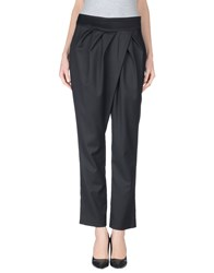 Divina Trousers Casual Trousers Women Black