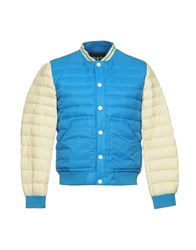 313 Tre Uno Tre Coats And Jackets Down Jackets Azure