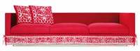 Moooi Boutique Diary Triple Seater Sofa Red