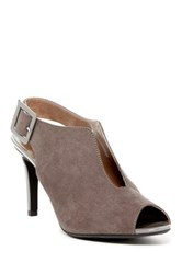 J. Renee Myra Ankle Strap Pump Wide Width Available Gray