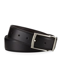 Nike Reversible Leather Belt Black Brown