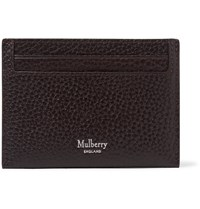 Mulberry Full Grain Leather Cardholder Brown