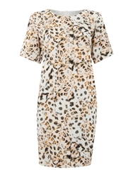 Pied A Terre Couture Dress Multi Coloured