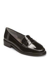 Aerosoles Main Dish Patent Leather Penny Loafers Black