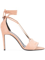 Pierre Hardy Open Toe Sandals Nude Neutrals