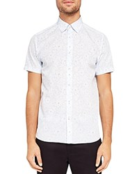 Ted Baker Calous Floral Printed Regular Fit Button Down Shirt