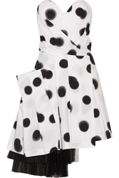 Marc By Marc Jacobs Polka Dot Stretch Cotton Poplin Dress