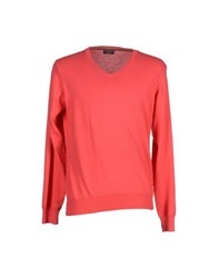 Rossopuro Knitwear Jumpers Men Coral