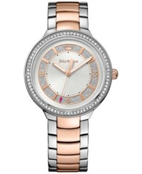 Juicy Couture Women's Catalina Two Tone Stainless Steel Bracelet Watch 36Mm 1901419