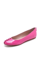 Moschino Cheap And Chic Flats Fuchsia