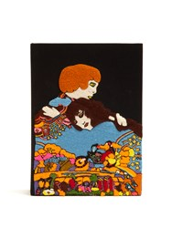 Olympia Le Tan Romeo And Juliet Book Clutch Black Multi