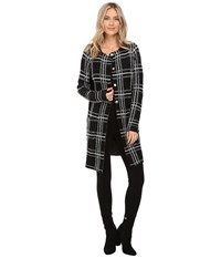 Sanctuary Serge City Coat Black Creme Women's Jacket