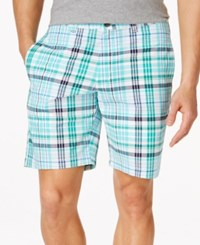 Club Room Big And Tall Plaid Shorts Only At Macy's Pretty Pine