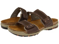 Naot Footwear Climb Bison Leather Men's Sandals Brown