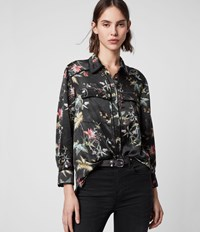 Allsaints Esther Evolution Shirt Black Multi