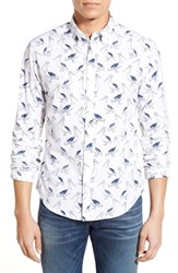 Men's Bonobos 'Pelican Party' Slim Fit Poplin Sport Shirt